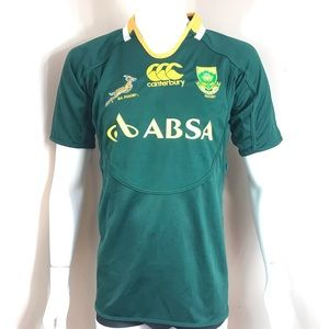 Asics Rugby Jersey Green Yellow South Africa SA